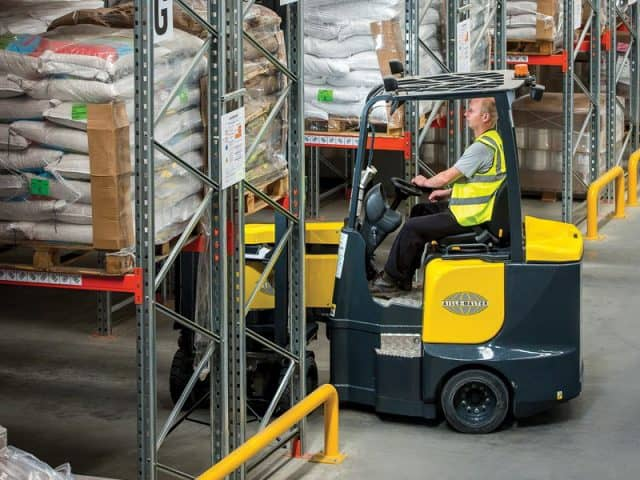 aislemaster electric forklifts from Pegasus MH