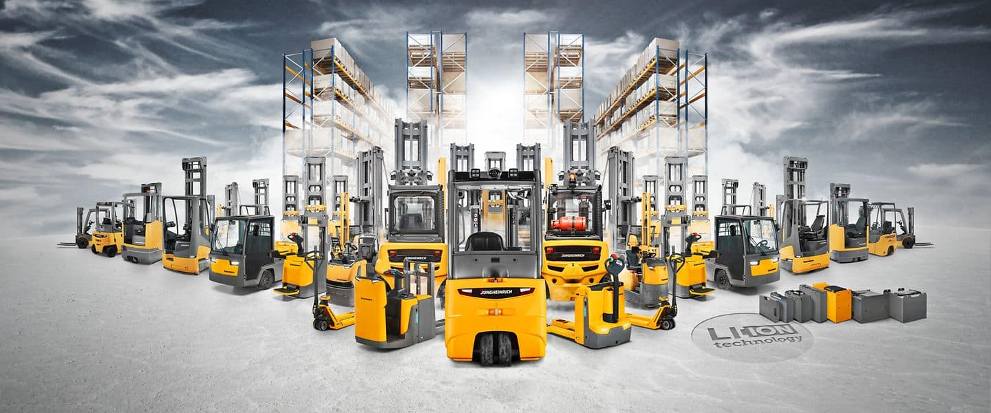 Forklift hire – Maximum flexibility for every eventuality